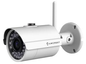 Amcrest IP2M-842 ProHD Outdoor 1080P WiFi Wireless IP Security Bullet Camera - IP66 Weatherproof, 1080P (1920TVL) - White