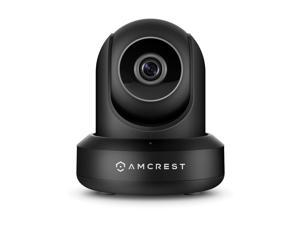 Amcrest IP3M-941B (Black) UltraHD 2K (3MP/2304TVL) WiFi Video Security IP Camera with Pan/Tilt, Dual Band 5ghz/2.4ghz, Two-Way Audio, 3-Megapixel @ 20FPS, Wide 90° Viewing Angle and Night Vision