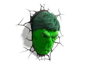 Marvel 3D Wall Nightlight - Hulk Face