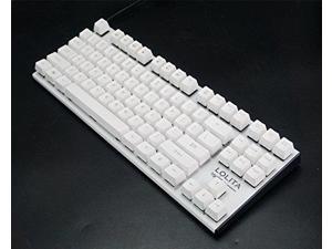 Mechanical Keyboard - Noppoo Lolita Spyder 87 [Kailh Blue Switch] - White