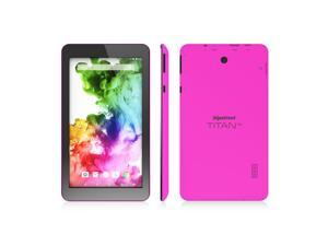 """Hipstreet Titan 4 7"""" Quad Core Google Certified Android 8GB Tablet Pink"""
