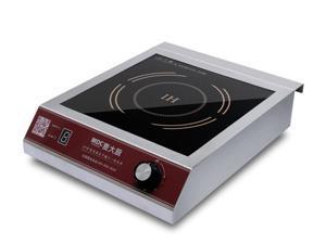 3500 Watt Commercial Electric Induction Cooker, 220~240 Volt, Knob Control