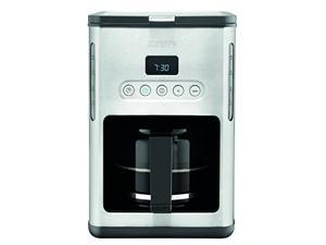 KRUPS KM442D 10-Cup Control Line Programmable Coffee Maker with Stainless Steel Finish, Silver
