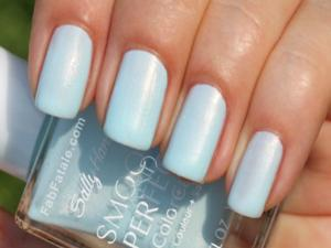 (3 Pack) Sally Hansen Smooth And Perfect Color Care 06 Air Baby Blue