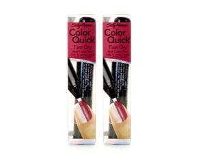 (2 Pack) Sally Hansen Color quick fast dry 11 stone