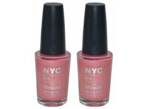 (2 Pack) NYC New York Color In a Minute Quick Dry 234 wall street
