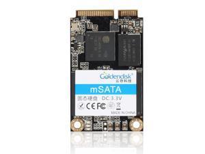 Goldendisk mSATA 128GB mini SATA III Solid State Drive SSDs Internal PCI-E 6Gb/s 2246