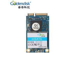 2PCS Goldendisk Mini PCIE mSATA ssd sata3 III 6GB/S 32GB SSD Hard Drive Solid State Drive Disk msata supper speed 430MB/s