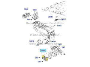 OEM High Performance Radio Amplifier Kit 2010-12 Lincoln Mkt #AE9Z-18B849-B
