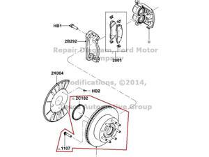 OEM Front Wheel Hub  Ford F250 F350 #CC3Z-1102-A