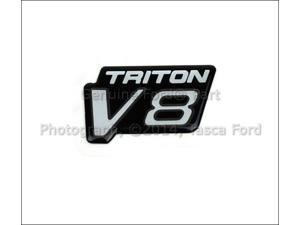 OEM Triton V8 Fender Emblem Ford Econoline & F250 F350 F450 F550
