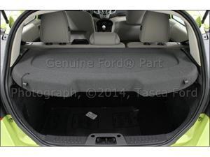 OEM Rear Package Tray Panel Charcoal Black 2011-15 Ford Fiesta 5 Door Sedan