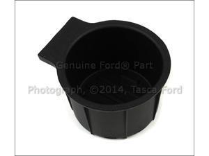 OEM Black Rubber Cup Holder Insert 2011-2015 Ford F250 F350 F450 F550