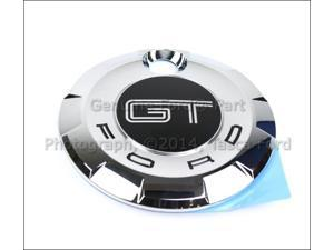 OEM Decklid Faux Gas Cap Gt Name Plate 2005-2009 Ford Mustang