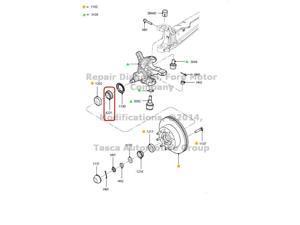 OEM Inner Bearing 2008-2011 Ford F250 F350 #7C3Z-4221-A