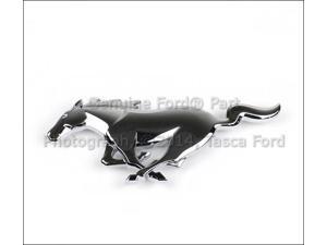 OEM Chrome Pony Front Grille Emblem 2010-2012 Ford Mustang