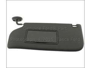 OEM Left Side Sun Visor Steel Gray 2011-2013 Ford F250 F350 F450 F550 Sd