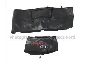OEM Black Mustang Gt Logo Front End Bra 2010-2012 Ford Mustang Gt