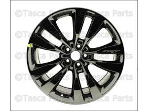 "OEM 20"" X 9"" Black Vapor Chrome Aluminum Wheel 2013-14 Dodge Charger Challenger"