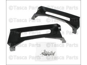 2013-2015 Ram 1500 OEM Mopar Rh & Lh Front Tow Hook Bezel Kit #68196982AA