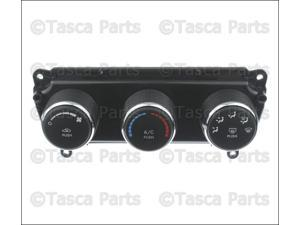 OEM Ac & Heat Climate Control Unit 2009-2010 Dodge Challenger #55111952AE