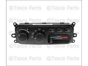 OEM Mopar Ac & Heater Control Unit 2003-2005 Dodge Ram 1500 #55056323AD