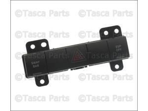 OEM Mopar Center Dashboard Hazard Switch 2007-2009 Jeep Wrangler #4602937AC
