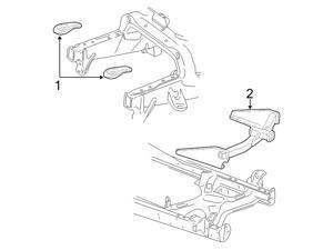 Ford OEM Trailer Hitch #3C3Z19D520AA