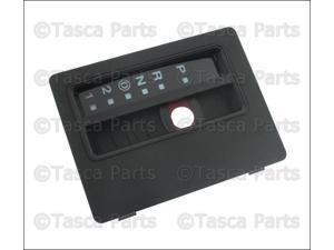 OEM Automatic Transmission Gear Shift Indicator Bezel 1997-2006 Jeep Wrangler