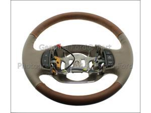 OEM King Ranch Tan Leather Steering Wheel Ford F150 F250Sd F350 Sd