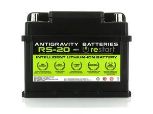 Antigravity RS-20 Intelligent Lithium Car Battery, RE-START & Management System Built-In