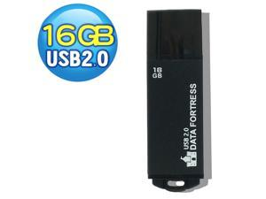 DATA FORTRESS - 16 GB USB 2.0 Flash Drive of Made in Taiwan (Other products 8 32 64 GB)