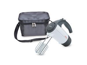 Sunbeam® 220-Watt Hand Mixer with Retractable Cord and Storage Bag, White FPSBHM1801-NP0