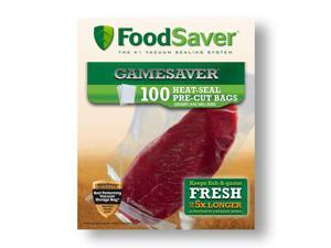 "FoodSaver® GameSaver® 8""x11"" Quart Vacuum-Seal Bags, 100 Ct"