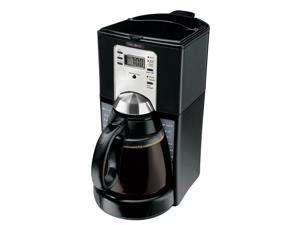MR. COFFEE FTX43-2NP Black Coffee Maker