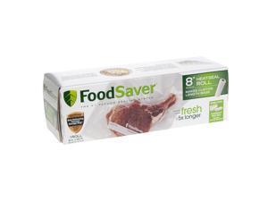 """FoodSaver® 8"""" x 20' Vacuum-Seal Roll, Single Roll FSFSBF0541-DTC"""