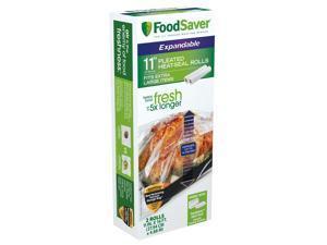 "FoodSaver® 11"" x 16' Expandable Vacuum Seal Rolls, 2 Pack FSFSBFEX626-000"