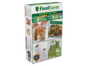 FoodSaver® Multi-Pack Vacuum-Seal Bags & Rolls Starter Kit FSFSBF0940-000