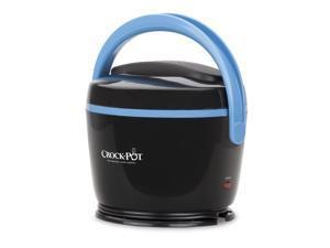 Crock-Pot® Lunch Crock® Food Warmer, Black & Sky Blue SCCPLC200-BK