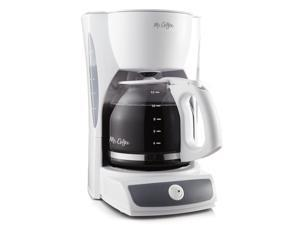 Mr. Coffee® Simple Brew 12-Cup Switch Coffee Maker White, CG12-RB