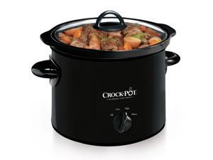 Crock-Pot® 3-Quart Manual Slow Cooker, Black SCR300-B
