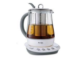 Mr. Coffee® Hot Tea Maker and Kettle  - White BVMC-HTK100