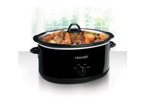 Crock-Pot® 8-Quart Manual Slow Cooker, Black SCV800-B
