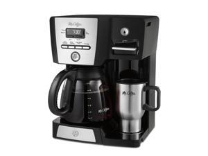 Mr. Coffee #174; Versatile Brew 12-Cup Programmable Coffee Maker and Hot Water Dispenser BVMC-DMX85-