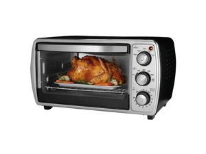 Oster 6-slice Convection Toaster Oven, Black TSSTTVCGBK