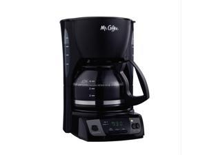 Mr. Coffee Simple Brew 5-Cup Programmable Coffee Maker Black CGX7-RB