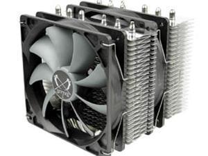 Scythe Fuma (SCFM-1000) Twin Tower/ Dual Slip Stream 120 PWM 120mm Fan 6-Heatpipe CPU Cooler