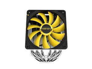 Reeven JUSTICE CPU cooler, 120mm fan with 6 heatpipes, INTEL/AMD