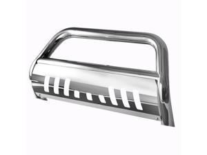 Bull Bar Brush Push Grill Guard for 11-16 Ford Super Duty F250 / F350 Stainless Steel Bestway