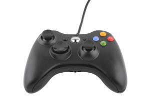 US STOCK USB Wired Joypad Gamepad Controller For Microsoft Xbox & Slim 360 PC Windows 7